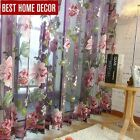 home decor drapes sheer window curtains for living room the bedroom kitchen