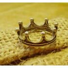 Fashion Queen Band Antique Womens Girls Ladies Princess Crown Tiara Ring