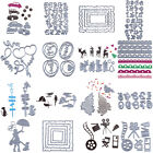 Sliver Metal Cutting Dies Stencils For DIY Scrapbooking Photo Album Card