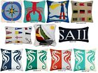 NAUTICAL THEMED OUTDOOR PILLOW COVERS