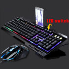 3.5mm Gaming Headset Mic LED Stereo Headphones / Gaming Keyboard & Mouse Bundles