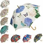 Ladies Wonderfully Patterned Automatic Walking Stick Style Auto Open Umbrella