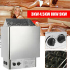 220V Electric Sauna Heater Stove Wet Dry Stainless Steel Internal Control Spa