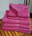 Fuchsia Pink Bobble Cotton Towels Face, Hand, Bath Towel & Bath Sheet Available