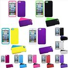 Hybrid Heavy Duty Shockproof Hard Soft Case Skin Cover For iPhone 5 5S SE $7.99 USD