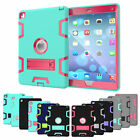 Heavy Duty Shockproof Military Rubber Case Cover For iPad mini 1 2 3 4 Air 2 Pro