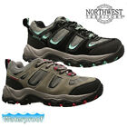 LADIES NORTHWEST LEATHER WALKING HIKING WATERPROOF ANKLE BOOTS TRAINERS SHOES