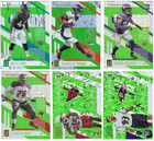 2017 Panini Unparalleled Football - Lime Green Parallels & RC - Card #'s 1-300 $1.19 USD