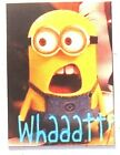 Minion WHAATT? love bananas food best friend crying who kill pool float magnet