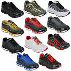 Mens Trainers Lace Up Running Bubble Shoes Pumps Sneakers Gym Sports Casual New