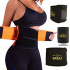 Women Slimming Sweat Waist Trainer Abs Belts Fat Burner Body Shaper Weight Sport