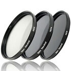 Set ND Filter Slim: ND2 ND4 ND8 Graufilter 49 52 55 58 67 72 77 82