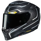 HJC RPHA70 ST BLACK PANTHER MOTORCYCLE STREET HELMET RIDING RACING DOT ECE
