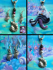 DISNEY VILLAINS URSULA SHELL EARRINGS NECKLACE OR SET LITTLE MERMAID ARIEL