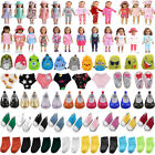 Doll Clothes Dress Shoes Socks For 18 Inch American Girl Doll Accessories Gift