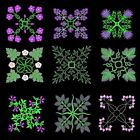 Anemone Quilt Squares 6 Machine Embroidery CD-36 Designs by Anemone Embroidery