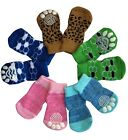 Dog Puppy Anti-slip Socks - For Tiny  Small Breeds - Choose Designs and Size