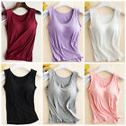 1PC Women Girls Built-in Bra Padded Strap Yoga Tank Top Camisole Cami Vest Tops