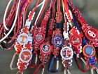 Bottle Cap College-NCAA Sports Survival Paracord Keychain Lanyard Choose Team