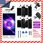 For iPhone 6s 6 Plus LCD Complete Touch Screen Digitizer Button & Camera & Tools