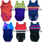 Внешний вид - Girls Gymnastics Leotard Child Med./Size 8, Assot., Sleeveless, Made in the USA