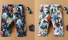 Men's Floral Beach Summer Shorts Pants Casual Slim Trousers with Pockets