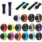 Silicone Sport Strap Watch Band For Fossil Q Founder Gen 1 /2 , Fossil Q Wander