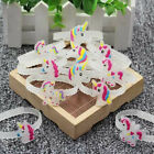 Unicorn Wristband Bracelet  Kid Child Toy glow in the dark  Bag Fillers  Favours