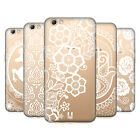HEAD CASE DESIGNS WHITE LACE PRINTS SOFT GEL CASE FOR OPPO PHONES