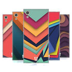 HEAD CASE DESIGNS COLOURFUL PAPER ART SOFT GEL CASE FOR SONY PHONES 1