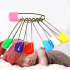 10X Colorful 4cm Baby Nappy Diaper Cloth Pins Safety Locking Clips Set Kits