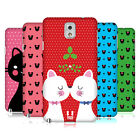 HEAD CASE DESIGNS CHRISTMAS CATS HARD BACK CASE FOR SAMSUNG PHONES 2