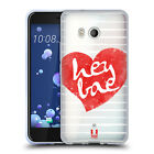 HEAD CASE DESIGNS LOVELY HEARTS SOFT GEL CASE FOR HTC PHONES 1