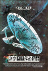 STAR TREK Motion Picture Autograph FILM MOVIE POSTER Signed by 8 of Cast Print on eBay