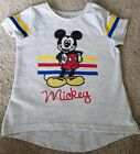 New Boys Mickey Mouse T Shirt Age 3-8 Years Disney Holiday