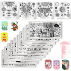 BORN PRETTY Nail Art Image Stamping Plates Love Nature Stamp Stencils Templates