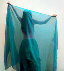 Chiffon Veil for Belly Dance 25 yards long All major colors
