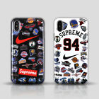 Luxury Supreme Basketball Pattern Soft TPU Case Cover for iPhone X 8 7 6s Plus