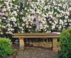 Cast Stone Portland Bench Seat with fluted support legs ST10 from Acanthus