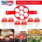 Home Garden - Egglettes Egg Cooker Hard Boiled Eggs without Shell 6 pcs Eggies Silicone Cups