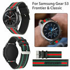 Genuine Leather Replacment Wrist Band Strap for Samsung Gear S3 Frontier/Classic
