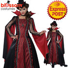CK1154 Victorian Vampire Girls Dracula Twilight Halloween Fancy Dress Up Costume