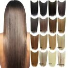 50g 22'' Straight Fish Line Hair Extensions Synthetic halo Hairpieces One Piece