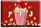 POP CORN TV ROOM HOME MOVIE THEATER RUSTIC LIGHT SWITCH OUTLET WALL PLATES DECOR