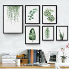 modern country style decorating - Modern Home Nordic Style Decor Paintings Pastoral Green Plant Leaves Minimalist