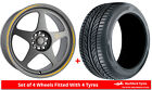 Alloy Wheels & Tyres 8.0x18 7Twenty Style21 Grey Matt + 2254018 Tyres