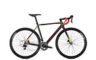 Rennrad Focus Mares 105 22G 28 Zoll Diamant carbon/red/orange