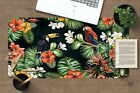 3D Flowers Birds 254 Non-slip Office Desk Mouse Mat Large Keyboard Pad Game