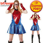 CA724 Marvel Spider Girl Marvel Womens Superhero Hero Party Dress Costume Outfit