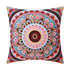 Pillows Cases Cushion Cover Retro Mandala Pattern Compass Medallion 18x18 Inches